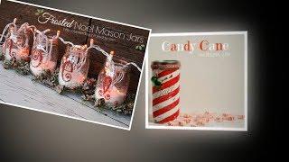 35 Christmas Mason Jar Ideas