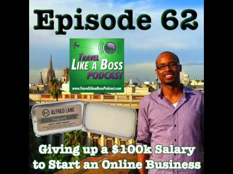 Ep 62 - Giving Up a Six FIgure Salary to Start an Online Business