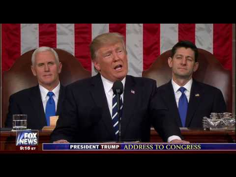 President Trump's Address to Joint Session of Congress (FULL)