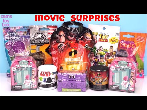 Doorables Toy Story Trolls My Little Pony Incredibles 2 Hotel Transylvania Surprises Toys - 동영상