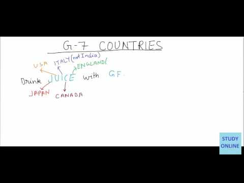 Trick to remember G7 Countries