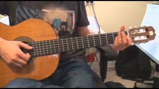 How To Play Dreamin - Youssoupha On Guitar Tutorial
