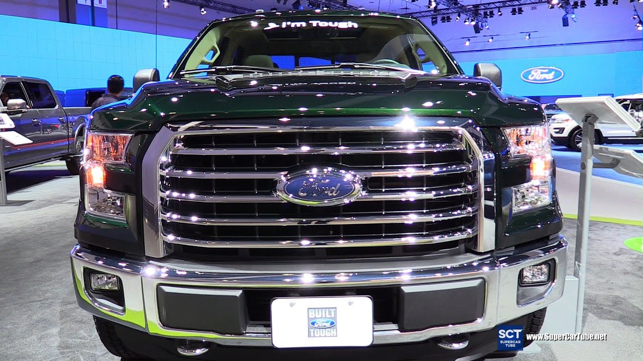 2016 Ford F 150 Xlt Super Crew Exterior And Interior Walkaround 2015 La Auto Show