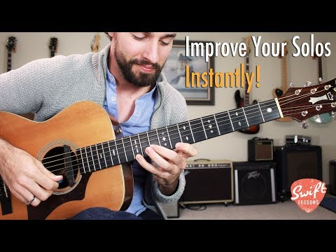 Fool-Proof Minor Soloing Strategy • Creating Licks from Chord Shapes
