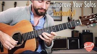 Fool Proof Minor Soloing Strategy • Creating Licks from Chord Shapes