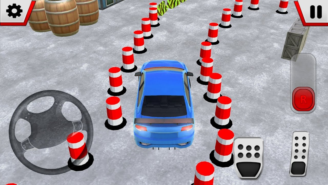 Modern Car Parking Free 3d By Mini Art Studios Android Gameplay