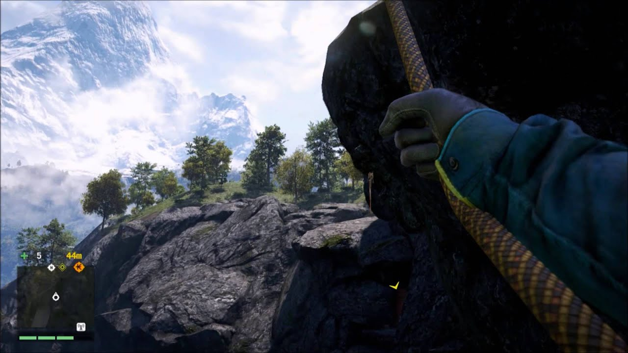 how to get backstage in far cry 4