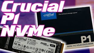 Crucial P1 500gb NVMe M.2 Review: Decent...but MUCH SLOWER than the 1tb
