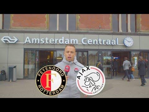 HELEMAAL NIETS IN AMSTERDAM ??!!! FEYENOORD WINT DE KLASSIEKER!