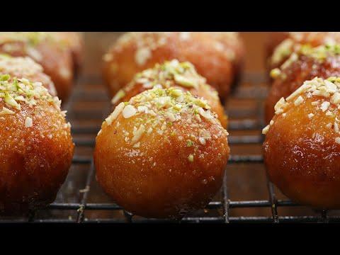 Download Youtube: Indian Fried Doughnuts (Gulab Jamun)