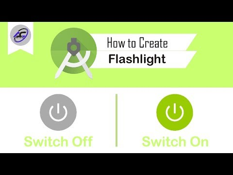 How To Create Flashlight In Android Studio | Flashlight | Android Coding