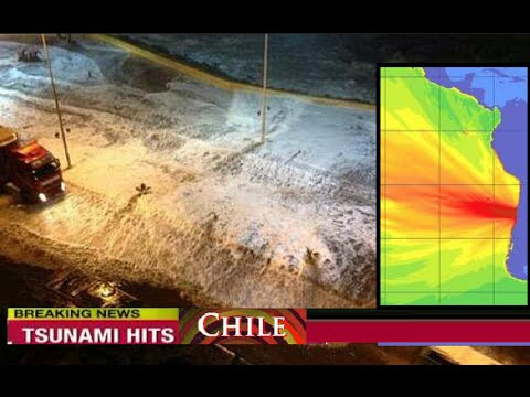 M 8.3 Earthquake Chile - Tsunami Hits Coast  | Sep 16, 2015