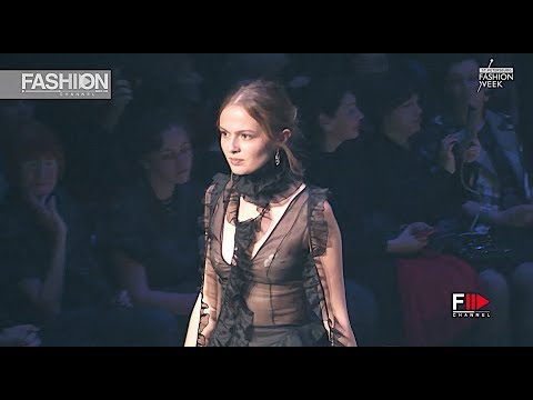 VALERIYA DERZHIRUCHENKO Spring Summer 2018 St. Petersburg - Fashion Channel