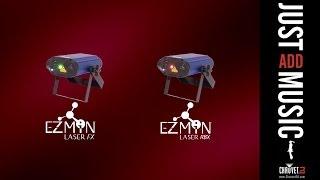 EZMiN Laser FX and EZMiN Laser RBX by CHAUVET DJ