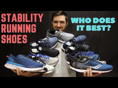 Stability Running Shoes | Hoka, Nike, Asics, Brooks, Saucony....