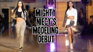 Mighty Niecy Makes Her Modeling Debut | MightyMom