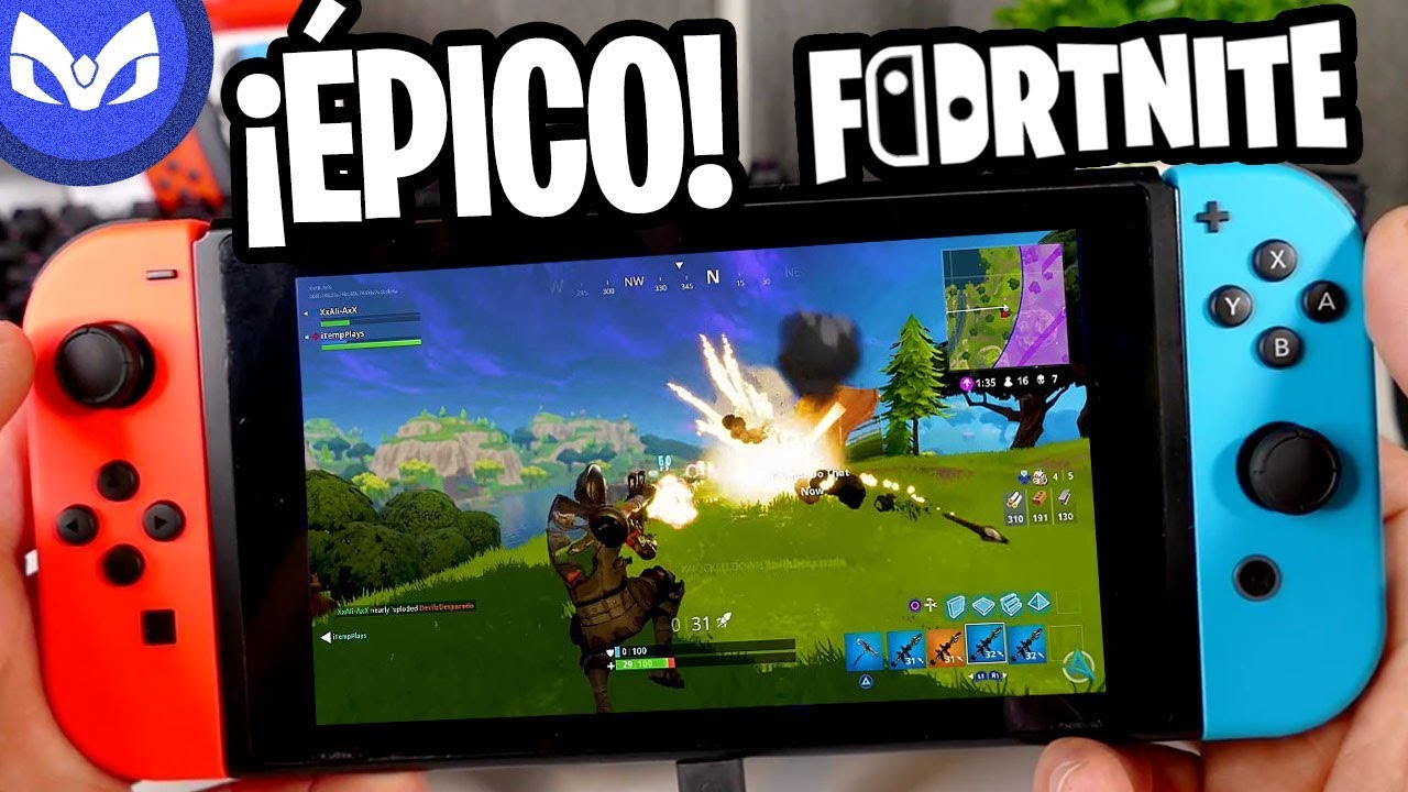 ASI ES FORTNITE en NINTENDO SWITCH GRATIS Y ANDROID ...