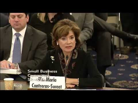 Hearing - Nomination of Maria Contreras-Sweet to be Administrator of the SBA