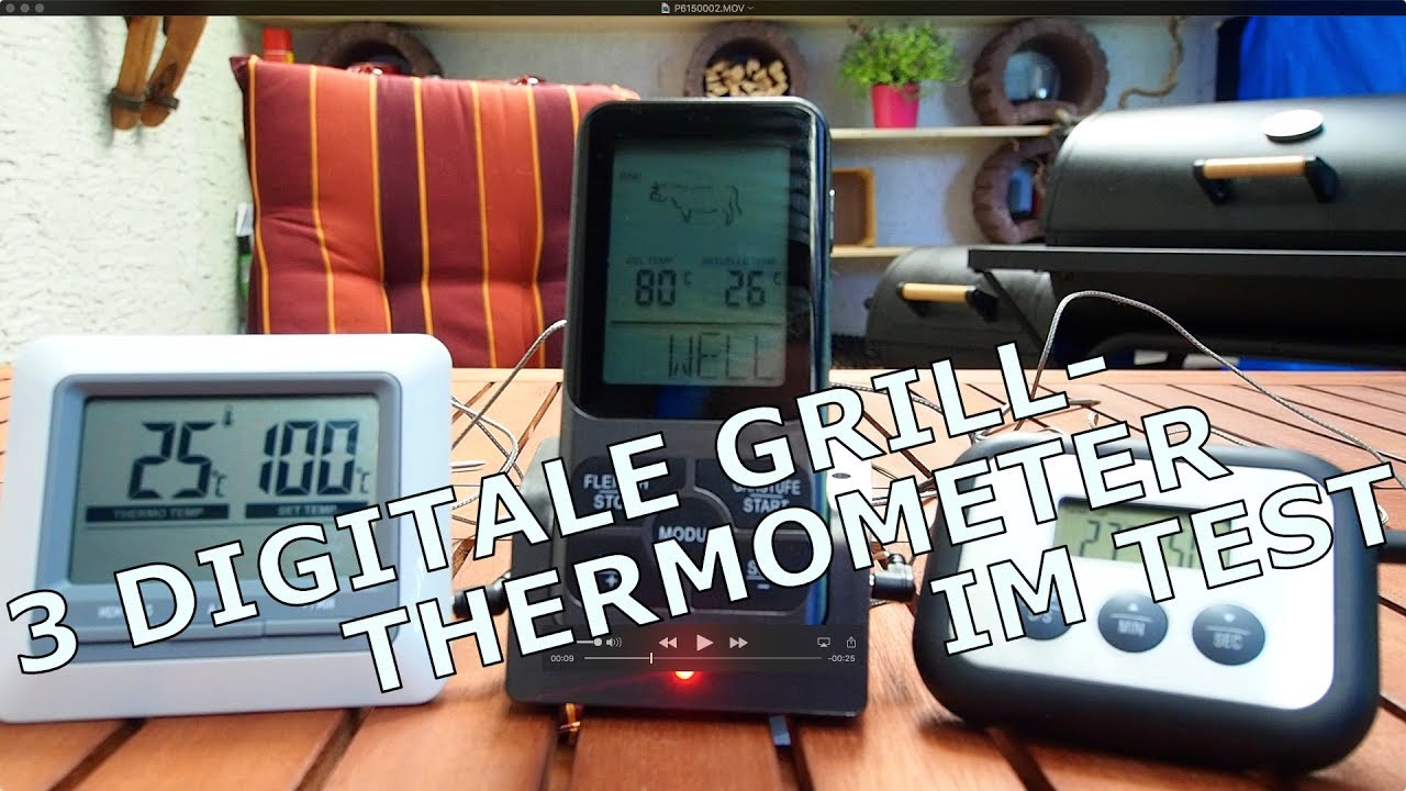 Küchen Thermometer Test Im Test 3 Digitale Grillthermometer Medion Ikea Amazon Thermo Pro