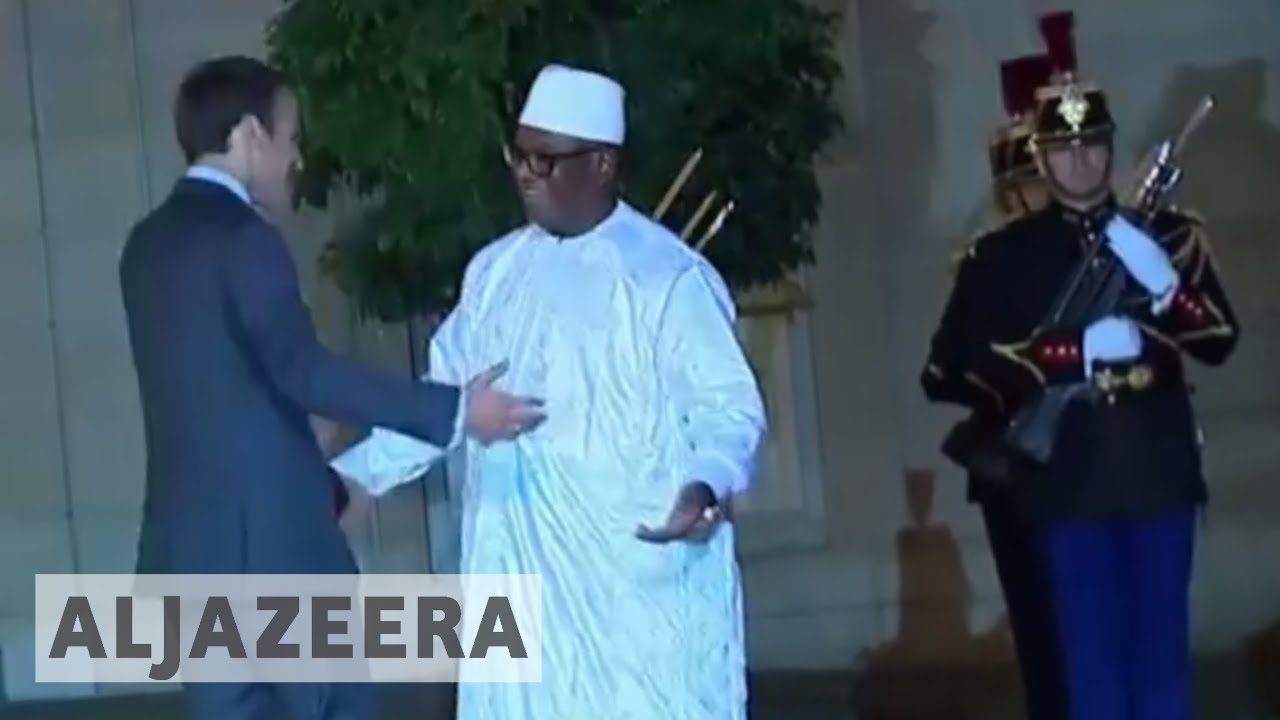 G5 Sahel force leaders arrive for summit in Paris