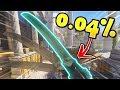 0.04% Chance Genji Deflect!! - Overwatch Luckiest Moments