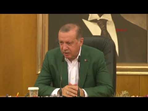 Cumhurbaşkanı Erdoğan: Hemen bu adımın atılması mümkün. Sayın Başbakanla dün mutabakatımız oluştu