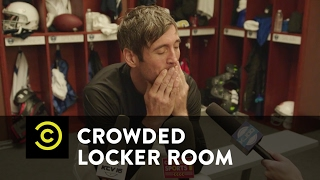 Crowded Locker Room