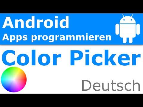 Farben Auswählen Mit Dem Color Picker - Android Apps Programmieren [Deutsch / German]
