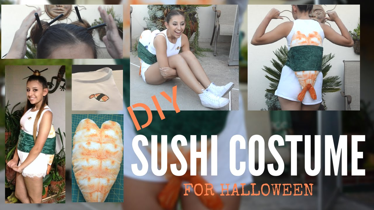 how to make a sushi costume for halloween