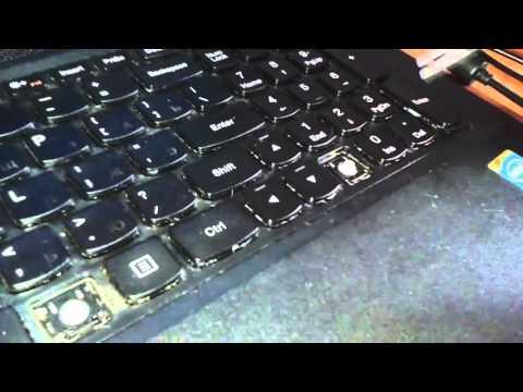 Как чистить клавиатуру на ноутбуке lenovo