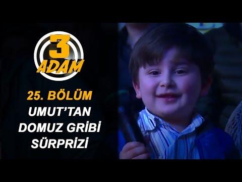 3 Adam'ın Minik Seyircisi Umut'tan 'Domuz Gribi' Sürprizi! | 3 Adam