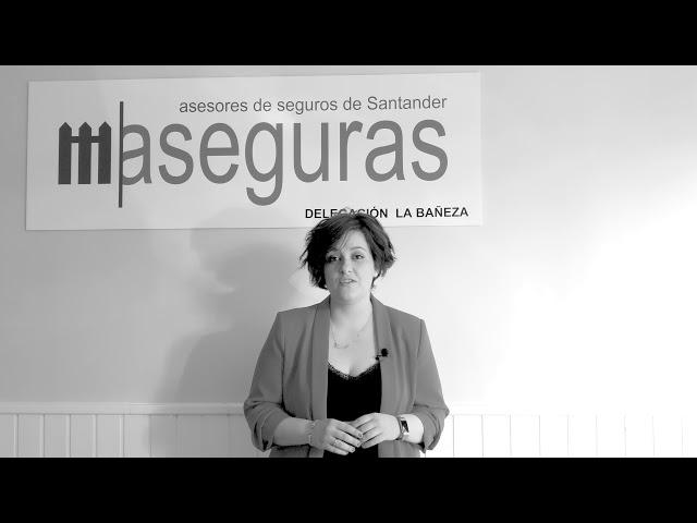 Laura Fernández, responsable de Aseguras La Bañeza