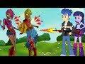 My Little Pony Equestria Girls Cartoon Zombie Apocalypse - Equestria Girls VS WINX CLUB Zombies