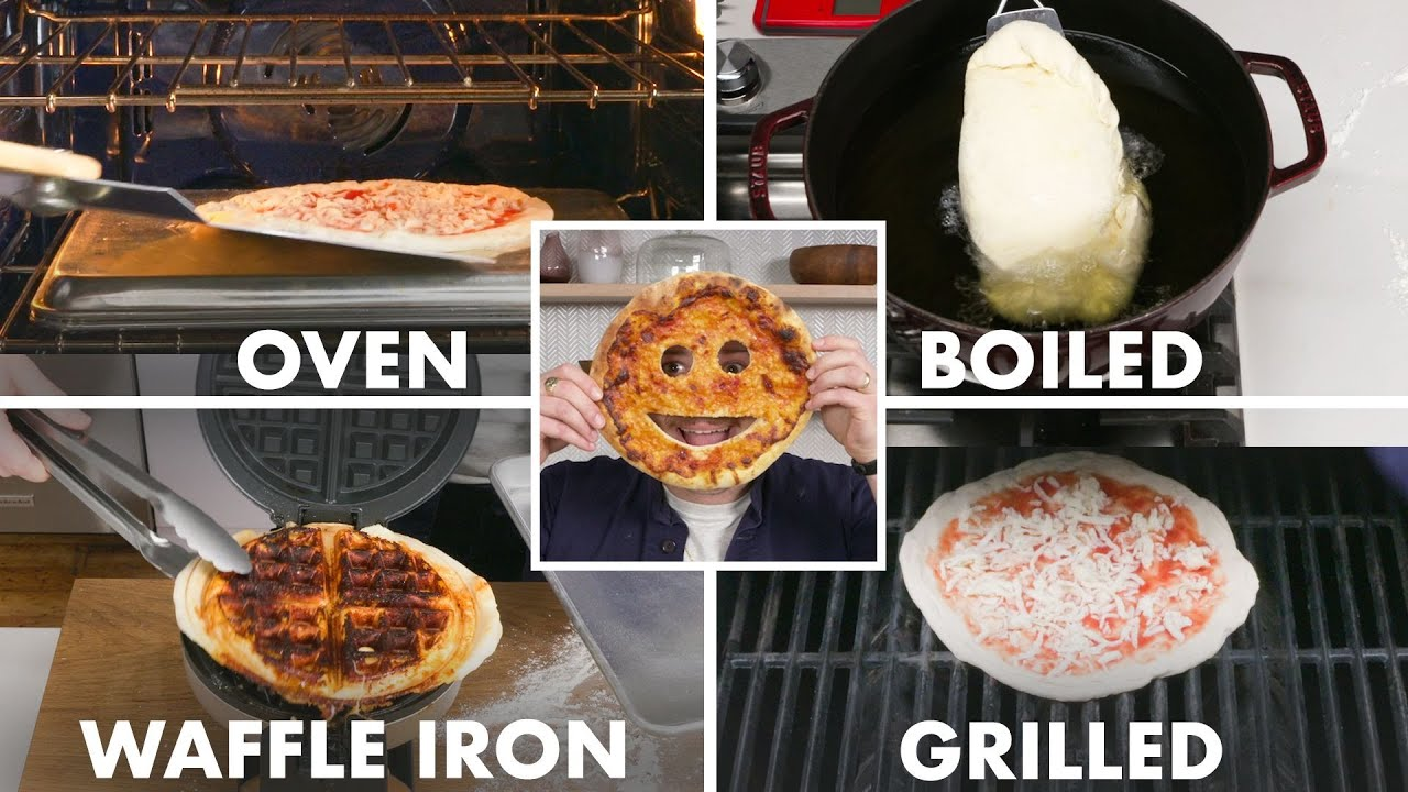 Every Way to Make Pizza (32 Methods) | Bon Appétit - YouTube