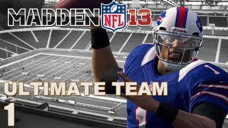 Madden 13 Ultimate Team : Cam Leading the Way I Starter Pack Opening Ep.1