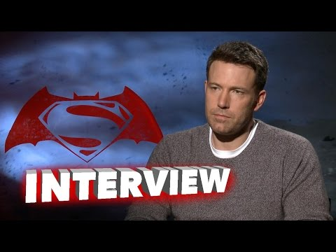 Batman v Superman: Dawn of Justice: Ben Affleck Exclusive Interview
