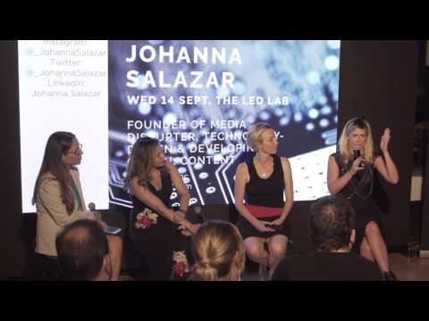 Glug NYC: Women Disrupters Panel Q&A