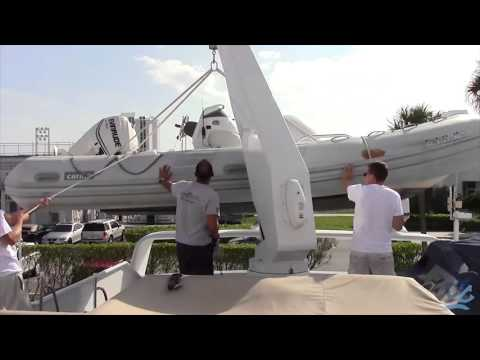 Basic Crane / Davit operation on yachts