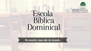 EBD • No mundo mas não do mundo - A Fala | Rev. Bruno Borges