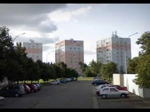 """Roanne (42) : visite de la cité """"Parc des Sports / Oudan"""""""