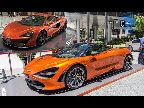 McLaren 720S and 570S Display Around Singapore