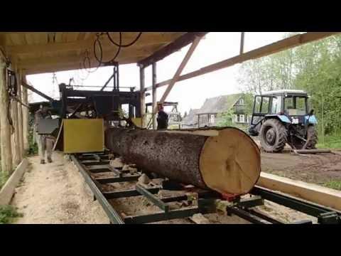 видео: Угловая дисковая пилорама