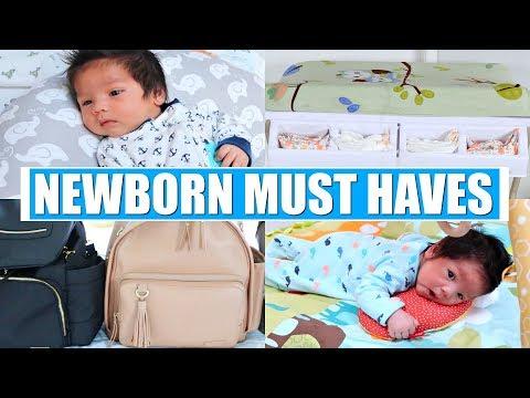 NEWBORN BABY MUST HAVES + ESSENTIALS!
