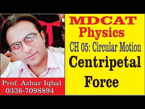 MDCAT Physics CH 05: Circular Motion,  Centripetal Force//Royal Madina Academy