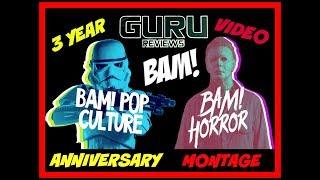 The BAM! Box | 3 Year Anniversary & Video Montage | Guru Reviews