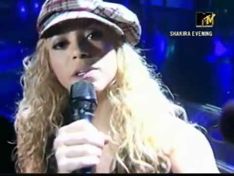 Download Shakira - Dude (Looks Like a Lady) - Live MTV - Tour Of The Mongoose