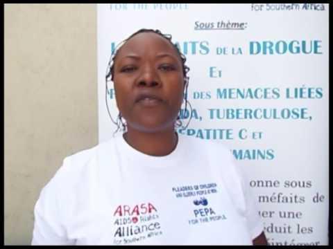 PEPA ARASA Drug users training on Human rights, HIV AIDS  TB and HpC