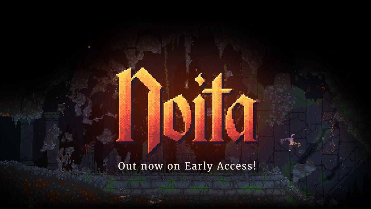 Noita - a roguelite in which every pixel is simulated