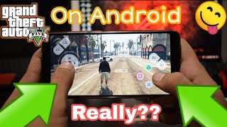 GTA 5 on Android Mobile | Download GTA 5 On Android Really ??? | 2018 (HINDI)