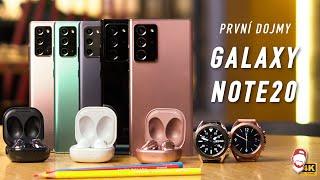 📱 PRVNÍ DOJMY: Samsung Galaxy Note20 Ultra, Galaxy Buds Live a další novinky! | WRTECH [4K]